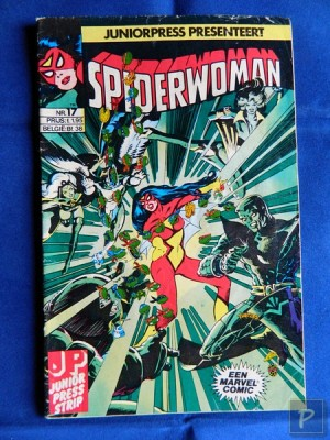 Spiderwoman 17 - Het begin